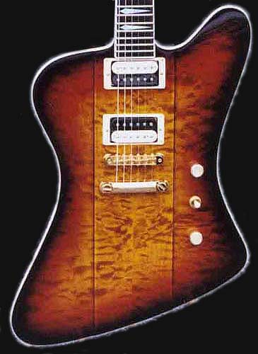 As with all GMW made guitars, clients are invited to specify all of the
